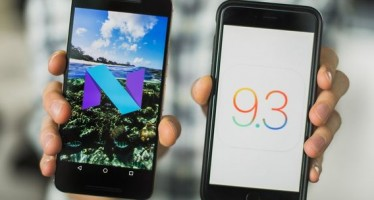 Сравнение Android N и iOS 9.3: больше общего, чем вы думаете