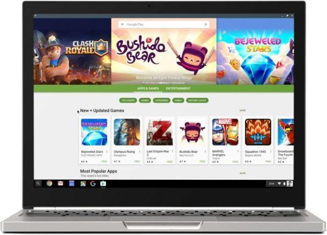 Chromebook с поддержкой Android приложений – конец Android планшетам?