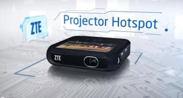 ZTE Projector Hotspot — проектор и точка доступа в вашем кармане
