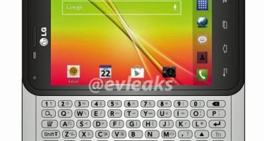 LG Optimus F3Q — смартфон с QWERTY-клавиатурой