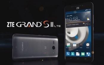 ZTE Grand S II — смартфон с голосовым управлением и поддержrой LTE