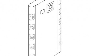 Samsung запатентовала дизайн Galaxy Note 4