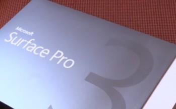 Распаковка, настройка и обзор Microsoft Surface Pro 3