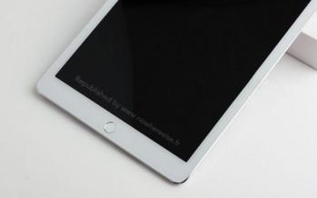 Новый iPad Air 2: фотограции макета, показывающие изменения корпуса