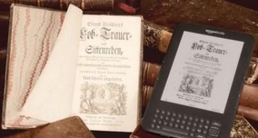 Электронные книги вытесняют печатную продукцию