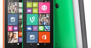 Официальные характеристики и цена Nokia Lumia 530