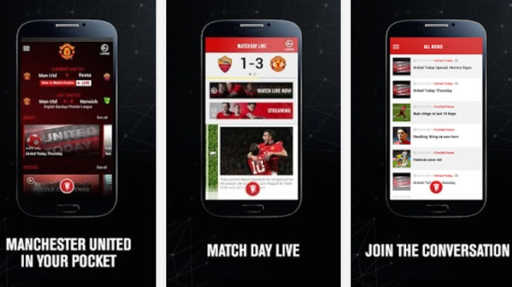 Official-Manchester-United-app-update