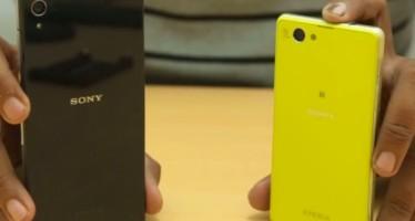 Сравнение Sony Xperia Z2 и Z1 Compact