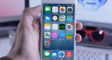 Визуальная модель iPhone 6 на iOS 8 от Tom Rich