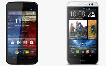 Обзор HTC Desire 616 и Motorola Moto G