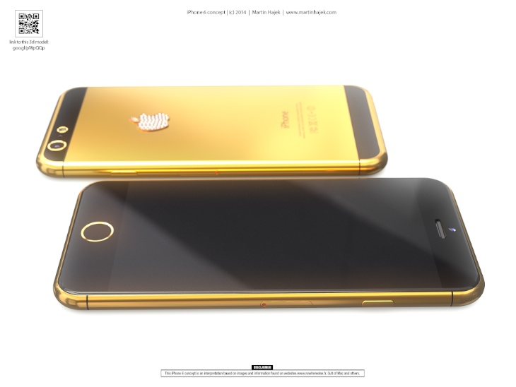 iPhone-6-in-real-gold
