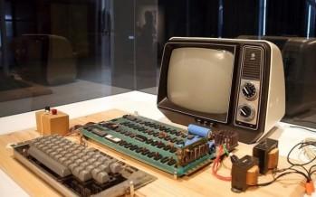 Работающий компьютер Apple-1 ушёл с молотка за $365 тысяч