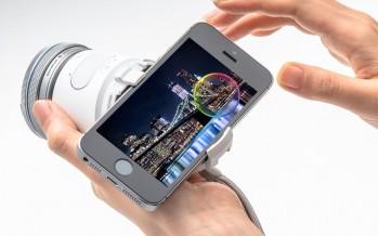 Olympus Air: накладная камера для смартфонов