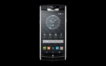 Титановый смартфон Vertu Clous De Paris
