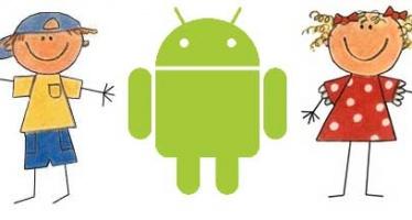Программы для развития детей на Андроидах