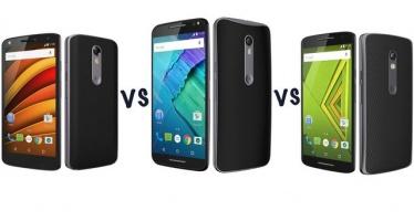 Moto X Force, Moto X Style и Moto X Play: Сравнение топовых смартфонов Motorola