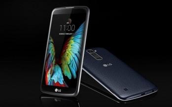 LG K10 и LG K7: два новых смартфона с различными конфигурациями