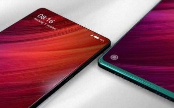Xiaomi Mi Mix 3 осенью: абсолютное отсутствие рамок и выезжающая камера