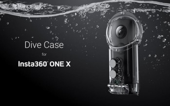 Китайцы представили компактную панорамную камеру Insta360 One X
