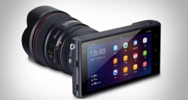 Yongnuo представила фотоаппарат на Android с 4K и селфи-камерой