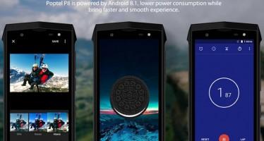 Обзор защищённого смартфона Poptel P8