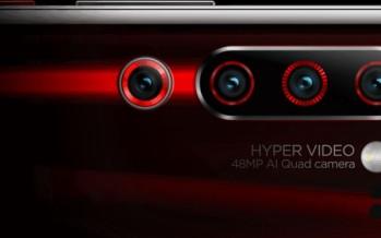 Lenovo Z6 Pro: 4-модульная камера на 100 MP