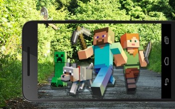 Мобильный Minecraft в дополненной реальности