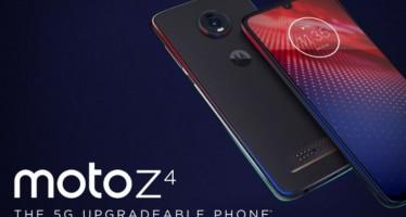 Motorola Moto Z4: стартовали продажи модульного смартфона