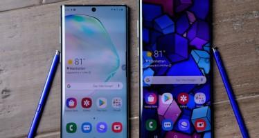 Samsung официально представил Galaxy Note 10 и 10+