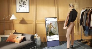 Samsung The Sero: дублирование экрана смартфона