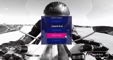 Deepdub позволяет дублировать фильмы, не меняя голос персонажа
