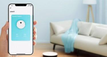 Yeedi 2 Hybrid: смартфон и умный дом