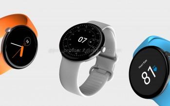 Смарт-часы Pixel Watch от Google готовятся к выходу, есть рендеры